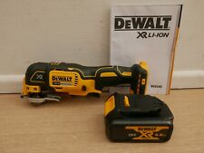 DEWALT XR 18V DCS355 OSCILLATING MULTI TOOL BARE UNIT + DCB182 4 AH BATTERY
