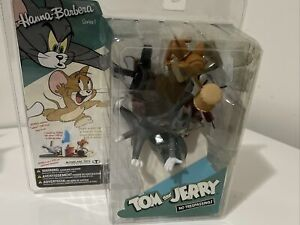 Tom & Jerry No Trespassing Figure Set McFarlane Toys 2006 New in Package
