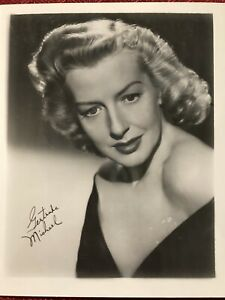 Gertrude Michael 4x5 Publicity Photo Actress The Last Outpost I'm No Angel