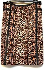 TS skirt TAKING SHAPE plus sz XL / 24 Keisha Skirt stretch leopard print NWT!
