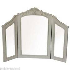 Pine Frame Arched Dressing Table Decorative Mirrors