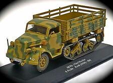 Eaglemoss Military 1:43 WWII Sd.Kfz. 3 Opel MAULTIER 4. Pz.Div Kursk Russia 1943