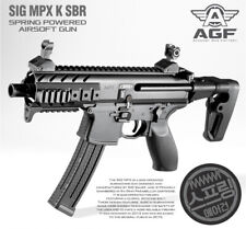 Academy Korea Full Size Airsoft Pistol Rifle BB Replica Toy Gun SIG MPX K SBR