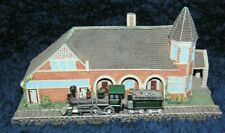 Lot of 8 Danbury Mint - Railroad Stations
