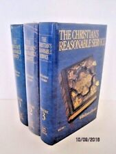 The Christian's Reasonable Service by Wilhelmus à Brakel, Volumes 1, 2 & 3