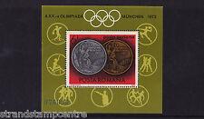 Romania - 1972 Giochi olimpici medaglie-U/M-SG MS3964