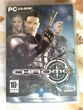 PC CD-ROM VIDEOJUEGOS CHROME GRTHERING EN CASTELLANO-COMO NUEVO 2 CD´S