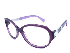 Coach HC8039 L039 Annette 5043/68 Purple Women's Eyeglasses Frames 57-15 130