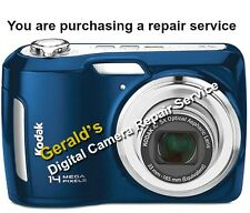 KODAK C195 CAMERA REPAIR SERVICE USING GENUINE KODAK PARTS-60 DAY WARRANTY