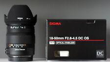 SIGMA 18-50mm   f 2.8- 4.5   DC OS para Nikon
