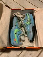 Nike x Off-White Waffle Racer Blue UK 8 US 10.5 EUR 42.5 CD8180 400