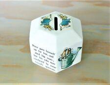 Wedgwood Octagonal Peter Rabbit Bank