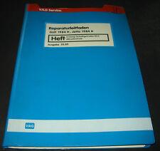 Werkstatthandbuch Golf II Synchro / Jetta 2 Typ 19E 5 Gang Getriebe 02C Allrad!