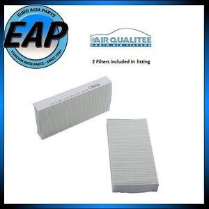 For Acura CSX EL RSX Honda Civic CR-V Element 2 A/C Cabin Fresh Air Filters NEW