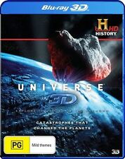 The Universe in 3D: Catastrophes that Changed the Planets NEW B Region Blu Ray