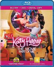 Katy Perry: Part of Me (Blu-ray/DVD, 2012, Canadian)