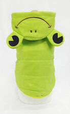 Pet Dog & Cat Clothes, Lovely Frog Winter Hooded Jacket, Size XL, Costume