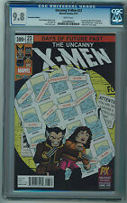 UNCANNY X-MEN #23 CGC 9.8 HIGH GRADE SDCC 2014 CON. VARIANT WHITE PAGES 1972