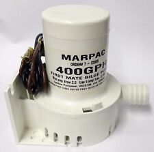 Johnson Mayfair First Mate 400 GPH Bilge Pump # 2200B by Marpac Made in the USA