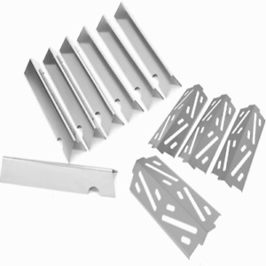 Flavor Bars Heat Deflectors Stainless Steel For Weber Genesis II LX 400 E/ES-41