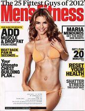 MEN'S FITNESS MAGAZINE December 2012 12/12 MARIA MENOUNOS Add Muscle E-2-3