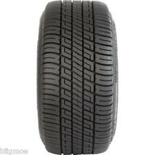 "205/50-10 Golf Cart Tire 4 Ply DOT + 10"" 4 Lug White Steel Wheel EzGo Club Car"