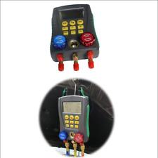 Vehicle Digital Display Air Conditioning Refrigerant Pressure Gauge Liquid Meter