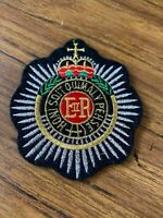 Royal Engineers British Army Patch Crest Badge