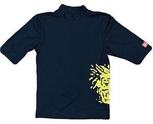Quiksilver Rash Guard Swim Shirt Size Youth 14 UPF Surfing Swimming Beach UV