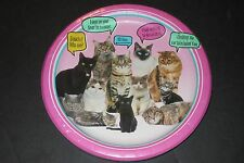Pet party paper plates- kitty cats 10ct 8 3/4in (22.2cm) NIP