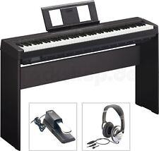 Yamaha P45 B Digital E-Piano mit L85 Holzgestell + Kopfhörer + Sustain Pedal