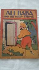 ALI BABA AND THE FORTY THIEVES - Stiff Card Wrapper Cover 1950's