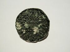 'The Green Man' carved in Spotted Stonehenge Bluestone - Preseli