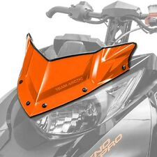 Arctic Cat Extreme Low Flyscreen Windshield Orange 2014-2018 ZR XF M - 7639-694