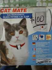 Brand new Cat Mate Electromagnetic Glass Fitting Cat Flap