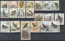 NEW ZEALAND: Birds set up to $10.00. Face value $31.85. MUH/MNH.Going cheap