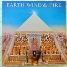 EARTH WIND AND FIRE LP ALL 'N ALL 1977 EUROPE VG+/VG++ OIS + POSTER