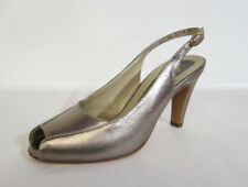 Ladies Peter Kaiser 'SINA' Leather Slingback Heels- Bronze- Great Price