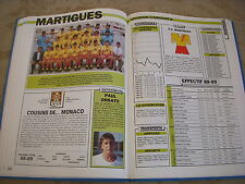 FOOTBALL COUPURE LIVRE PHOTO MRBT31 20x10 D2 GrB FC MARTIGUES 1988/1989