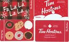 4 Tim Hortons Gift Cards $0----Collectible------NO VALUE