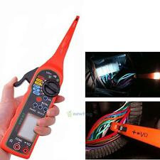 LCD Auto Car Circuit Tester Detector Multimeter Lamp Probe Pencil Diagnostic 12V