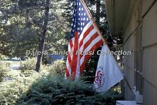 M071 35mm Slide United States Bicentennial  Flags 1976 Ektachrome Transparency