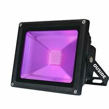 UV Black Light, 30W Purple LED FloodLight IP65 Waterproof 395-400nm