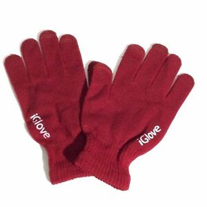 iGlove Touch Screen Gloves - Unisex - For Smart Phones & Tablets & Touch Monitor