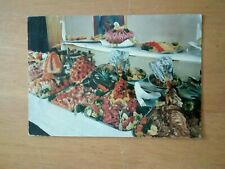 CARD;COLD TABLE; FRED OLSEN TOURS; CRUISE LINES; ca1960