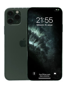 Apple iPhone 11 Pro Max, 64GB, Nachtgrün, in OVP, MwSt. MWHH2ZD/A