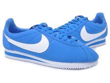 NIKE Classic Cortez Nylon  Neu Sommer Sneaker Gr:39 Blau/WEISS Premium Retro