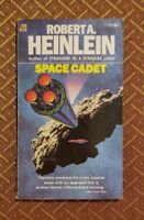 SPACE CADET by Robert Heinlein! Rare 1971 ACE Science Fiction Paperback 77730!