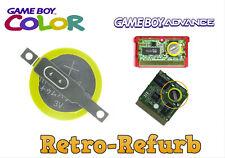 CR2025 - CR1616 - Nintendo GameBoy - GameBoy Advance Battery - Cartridge - GBA