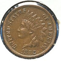1882 1C Indian Cent (58266)